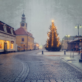 by Bojan Bilas - Public Holidays Christmas ( urban exploration, europe, color, beautiful, fine art, suomi, finland, long exposure, travel, architecture, rauma, city )