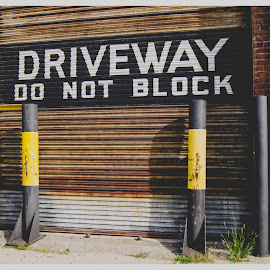 Block driveway by Melissa Tanguay - Buildings & Architecture Other Exteriors ( boston, driveway, block, odd )