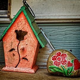 backyard treasures by Lennie Locken - Artistic Objects Still Life