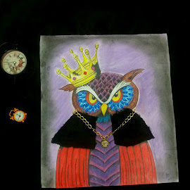lord of time by Sanaz Shahraki - Painting All Painting