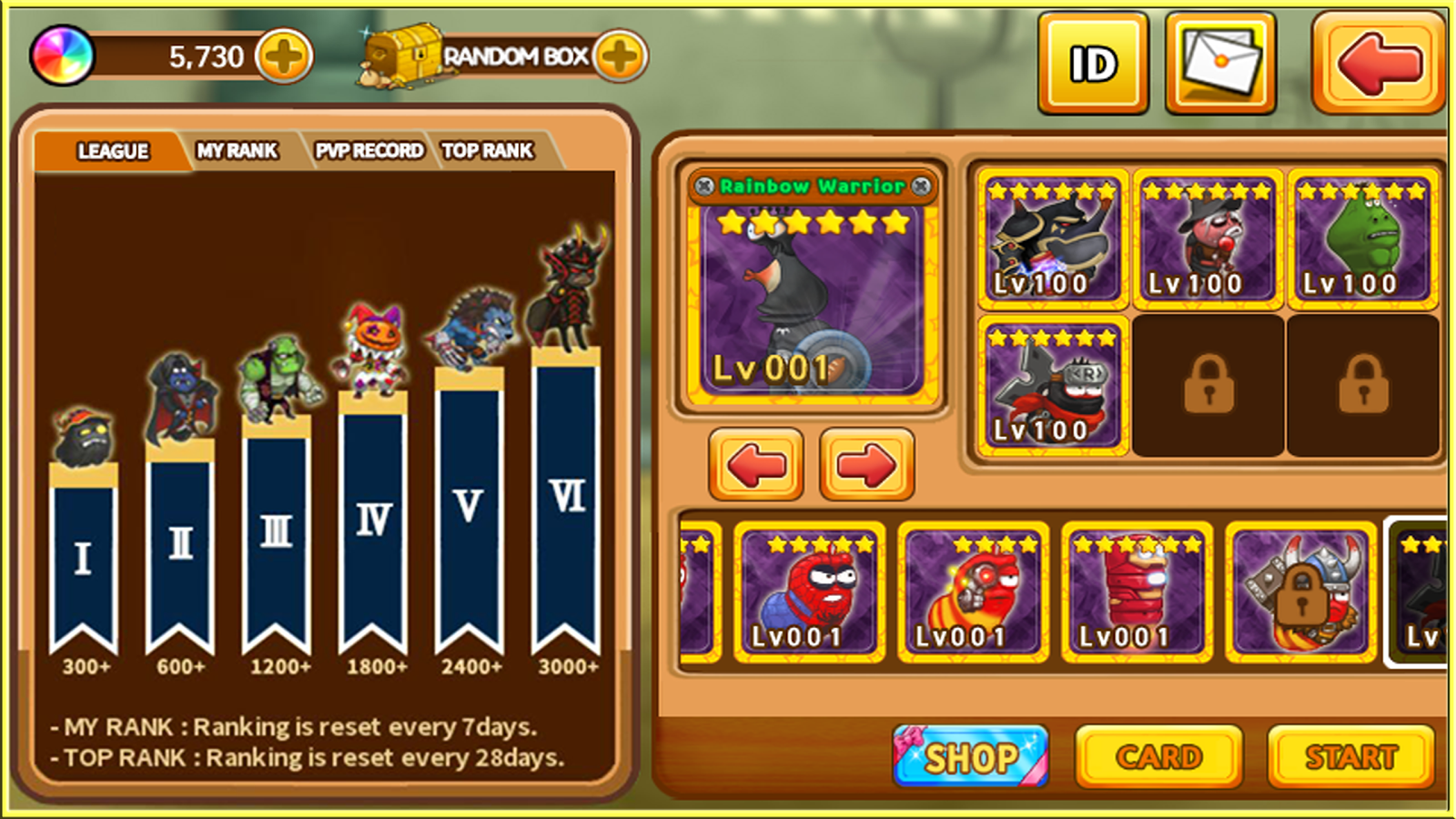 Larva Heroes : PVP Online Screenshot 1