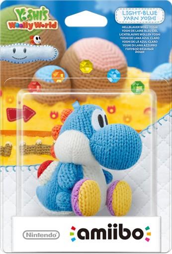 Light Blue Yarn Yoshi packaged (thumbnail) - Yoshi's Woolly World series