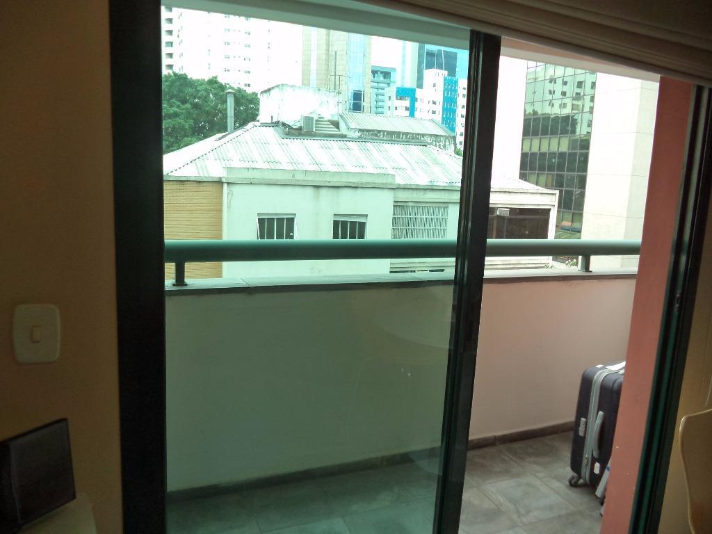 Flat 1 Dorm, Itaim Bibi, São Paulo (FL0450) - Foto 6