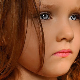 Such a Stare by Cheryl Korotky - Babies & Children Child Portraits
