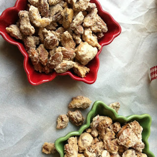 Candied Cinnamon and Sugar Nut Mix {Edible Gift Giving}