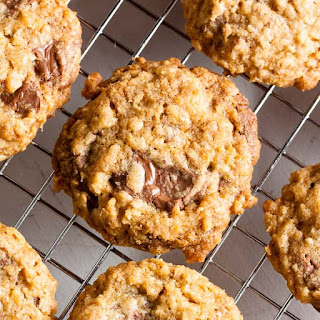 Milk Chocolate Orange Cookies