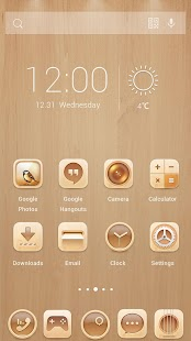 Original Wood Theme - screenshot