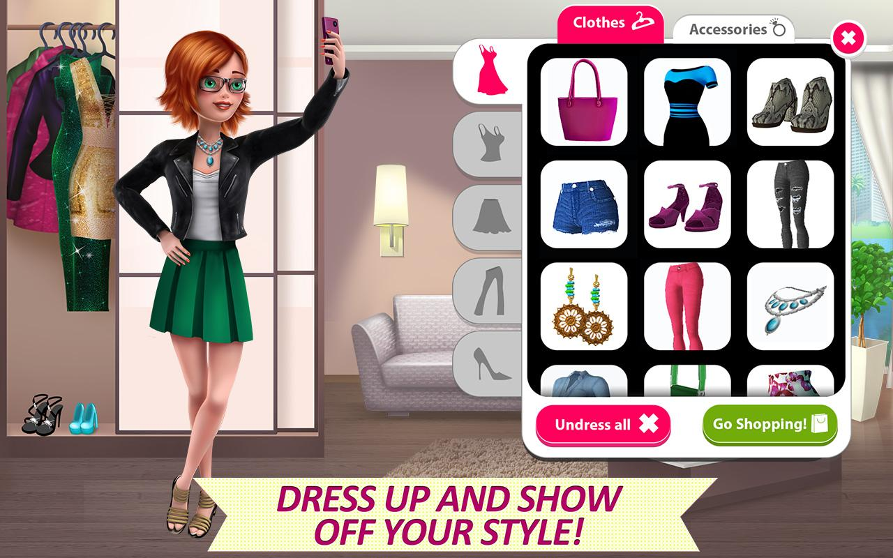 It Girl Story - Celebrity Life Screenshot 3