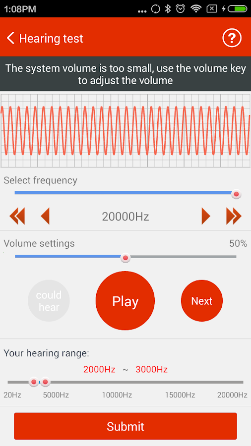 iCare Hearing Test Pro Screenshot 0