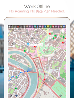 Screenshot of Delhi Map and Walks