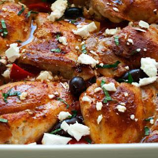 Chicken Thighs Feta Greek Recipes