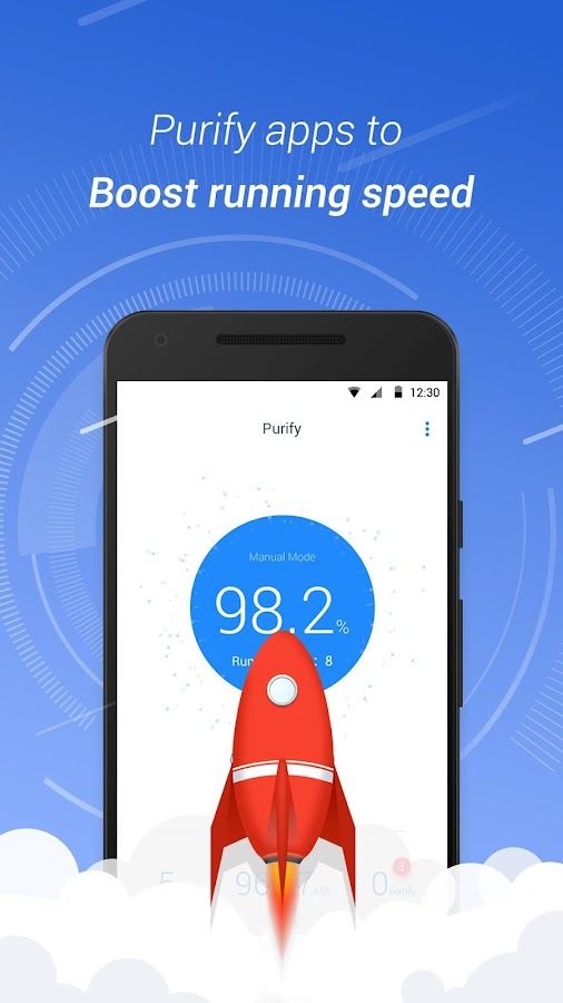 Purify – Speed & Battery Saver Screenshot 1