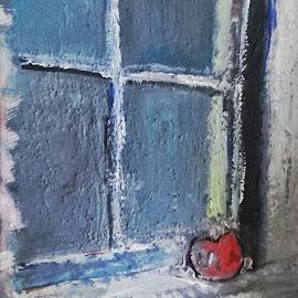Apple by Vanja Škrobica - Painting All Painting