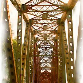Bridge by Ron Olivier - Digital Art Places (  )