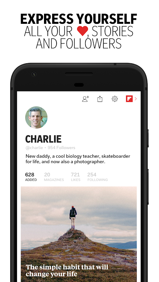 Flipboard: News For Any Topic Screenshot 4