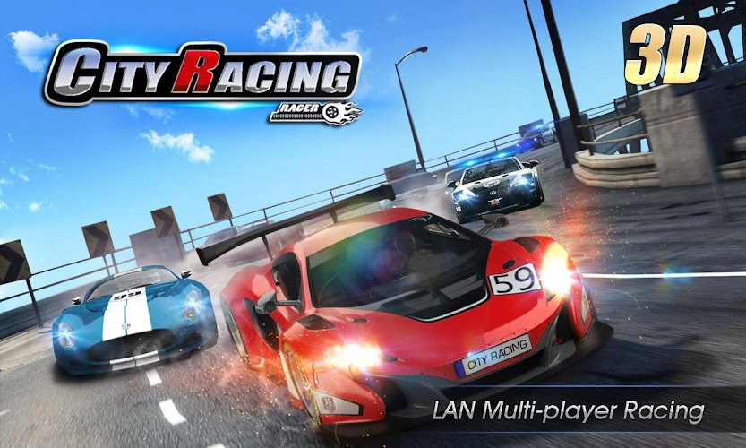 City Racing 3D Android App Screenshot