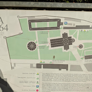 A description of the complex of buildins at the Leaning Tower of Oisa