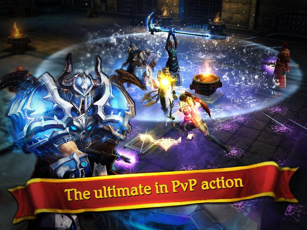 Clash for Dawn: Guild War Screenshot 1