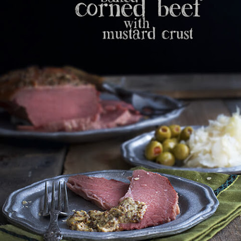 Baked Corned Beef with Sweet-Mustard Crust