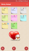 Screenshot of Sticky Notes !