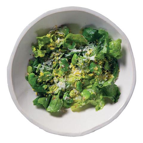Escarole and Fava Beans