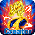 Create Dragon Z Saiyan Warrior APK for Bluestacks