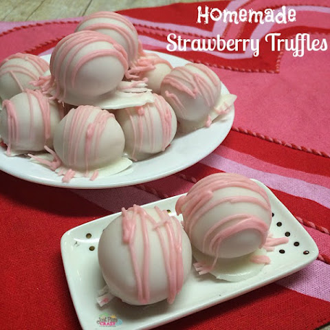 Strawberry Truffles Recipe with Weight Watchers Smart Points
