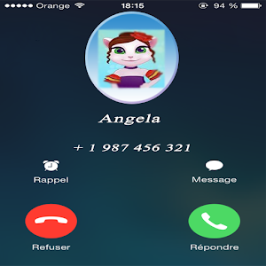 Call From Cute  Angela For PC