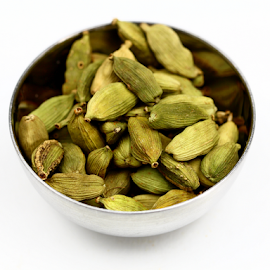 Cardamom by Dipali S - Food & Drink Ingredients ( diversity, healthful, aromatic, appetizing, colorful, spice, powder, kitchen, delicious, tasty, seasoning, herb, food, hot, healthy, freshness, ingredient, additives, cardamom )