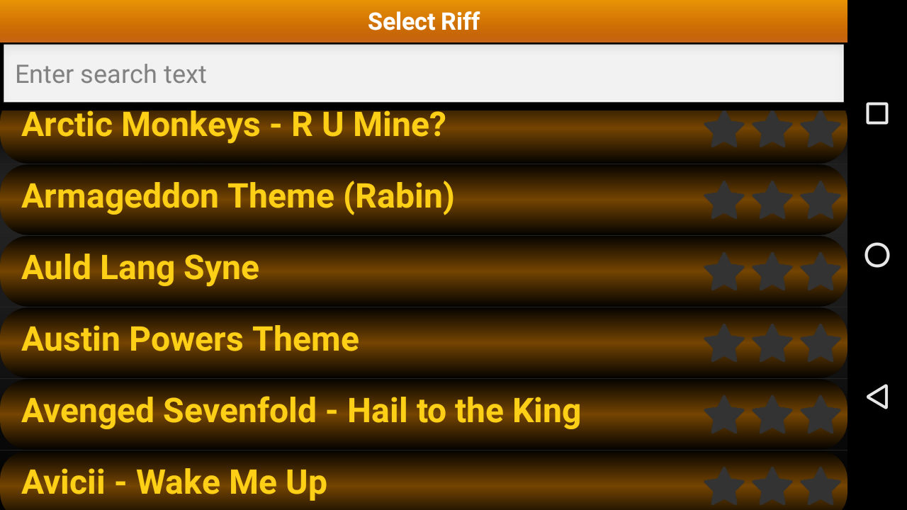 Guitar Riff Pro Screenshot 3
