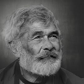 Bertalan by Zoltán Túri - People Portraits of Men