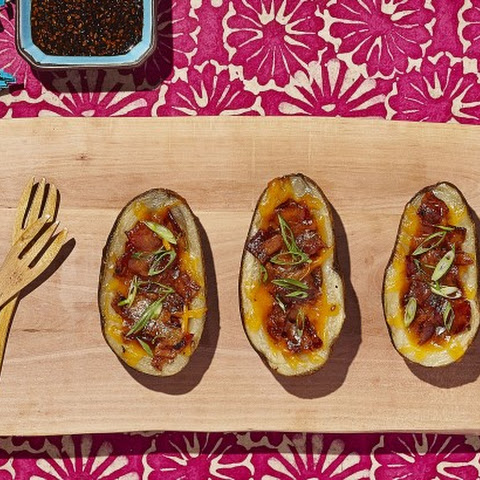 Lucky Loaded Potato Skins