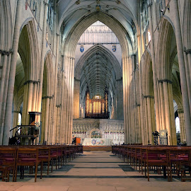 York Minster by Phil Robson - Buildings & Architecture Places of Worship ( york minster, yorkshire, cathedral, york, historical )