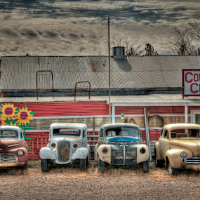 Country Classics by John Klingel - Transportation Automobiles