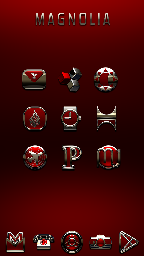 MAGNOLIA Icon Pack Screenshot 1