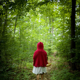 Little Red Riding Hood by Teresa Cerbolles - Digital Art People (  )