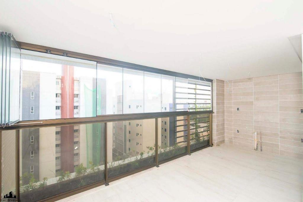 Apartamento com 3 dormitórios à venda, 147 m² por R$ 775.000 - Intermares - Cabedelo/PB