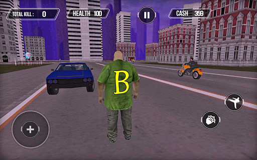 Gangster Theft Auto San Andreas City For PC