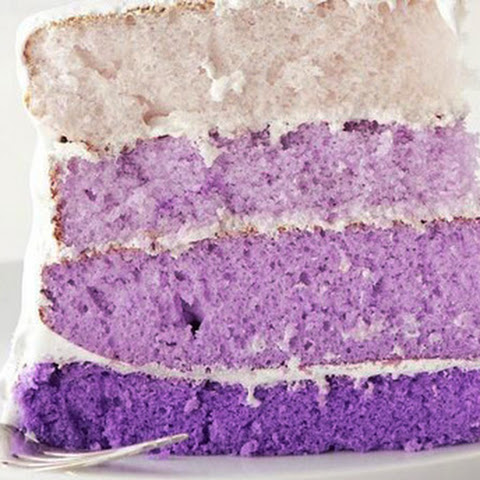 Gorgeously Vegan Purple Taro Cake