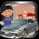 Car factory && repair Shop game APK for Bluestacks