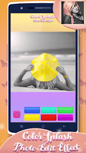 Color Pop Effects Photo Editor - screenshot
