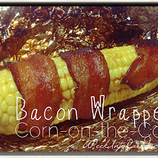 Bacon Wrapped Corn-On-The-Cob