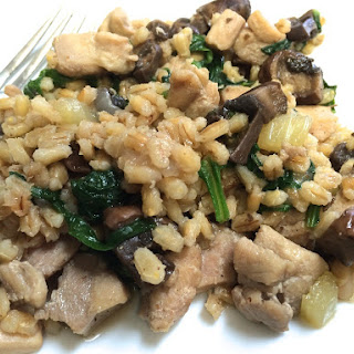 Chicken with Toasted Barley