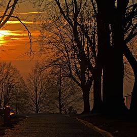 Západ slunce by Jana Černošková - Landscapes Sunsets & Sunrises ( sunset,  )