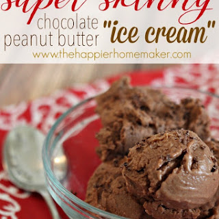"Chocolate Peanut Butter Skinny ""Ice Cream"""