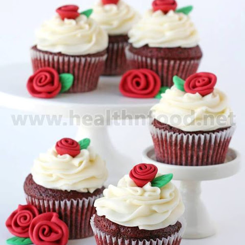 Romantic Rose Cupcakes