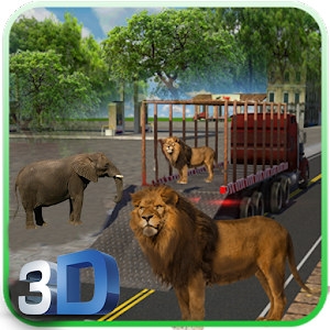 Animal Cargo Transporter Games