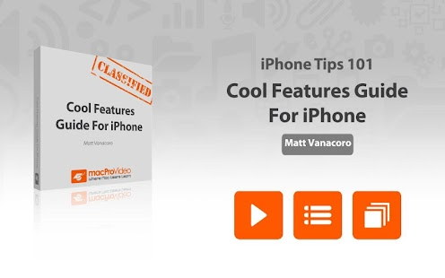 Cool Features Guide For iPhone - screenshot