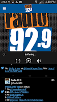 Screenshot of Radio 92.9 WBOS