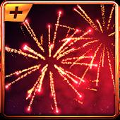 3D-Feuerwerk Live-Hintergrund